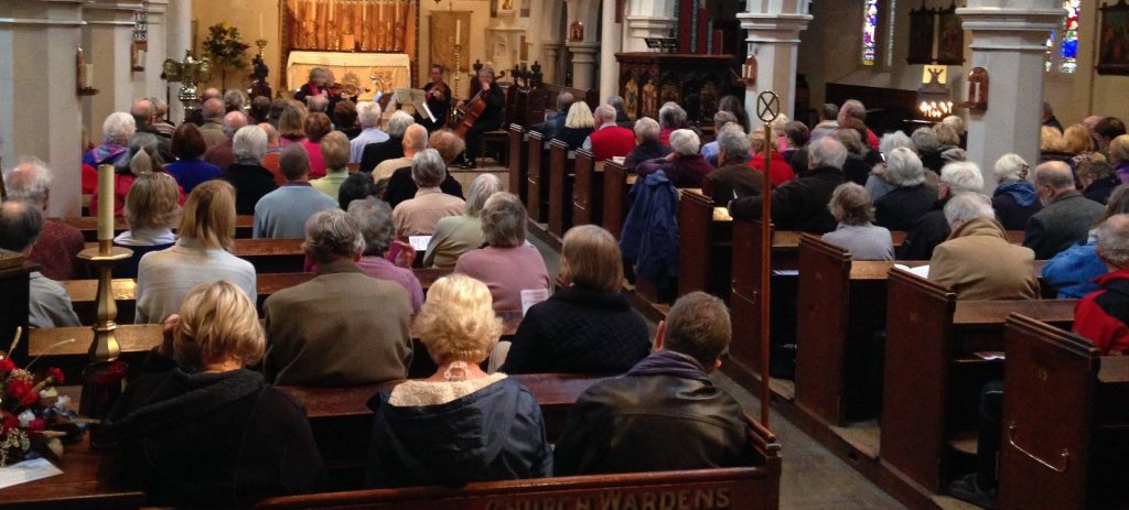 Cambini Ensemble coffee concert at St Andrews's Church Deal