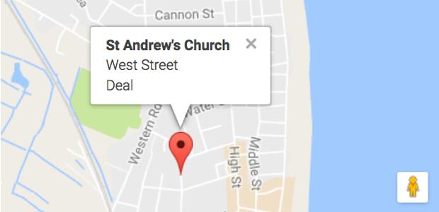 St Andrew's Church CT14 6DZ